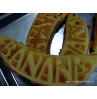 Forma de Doce de Banana Japonesa Kasutera