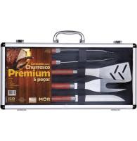 Conjunto Churrasco Premium 5 PÇS - MOR